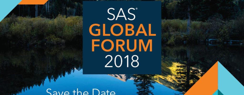 SAS® Global Forum 2018