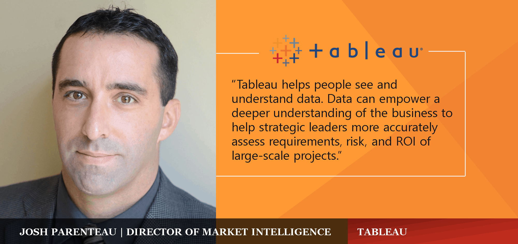 Tableau: Accelerating Decision-Making with the Power of Visual