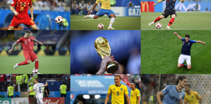 Blue Yonder's AI-powered algorithm puts England's chances of reaching the World Cup 2018 semi-finals at 55.9%, though Brazil is still expected to be the ultimate victor