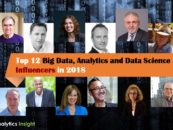 Top 12 Big Data, Analytics and Data Science Influencers in 2018