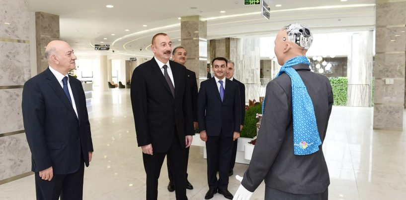 Humanoid Sophia is the First AI-powered Robot to Receive a Visa, Speaks with Azerbaijan's President
