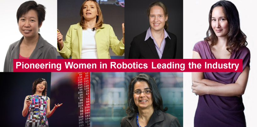 Pioneering Women in Robotics Leading the Industry
