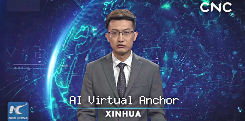 AI News Anchor. The Future is Here!
