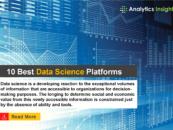 10 Best Data Science Platforms