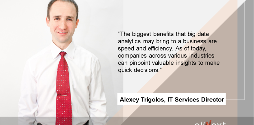 Exclusive Interview with Alexey Trigolos, IT Services Director of Elinext