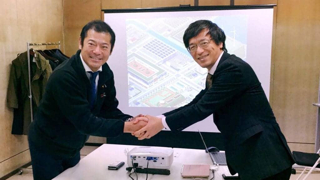 Mr. Takeshi Kandatsu & Lao Shihong