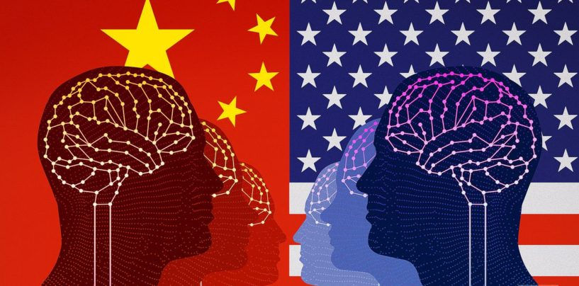 China is Touching the Height of the US on Artificial Intelligence Research
