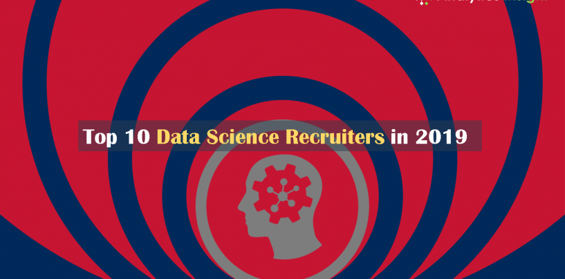 Top 10 Data Science Recruiters in 2019