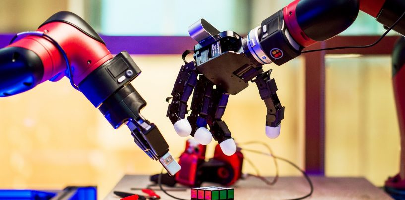 It is all Reinforcement learning at Facebook's New Robotics Lab