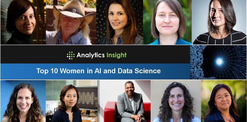 Top 10 Women in AI and Data Science