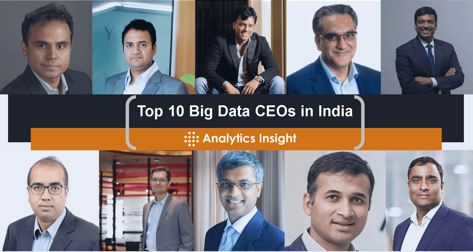 Top 10 Big Data CEOs in India