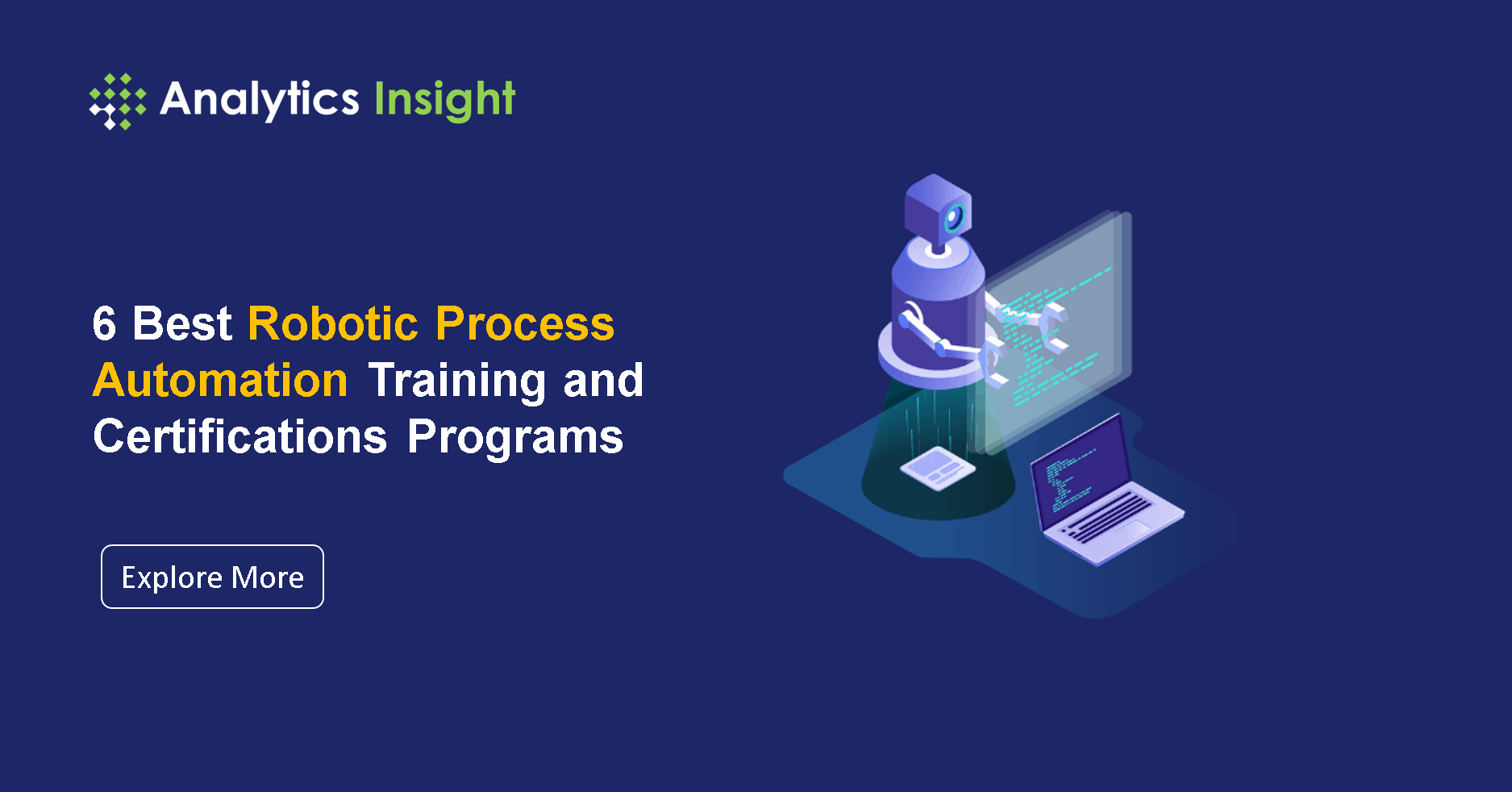 6 Best Robotic Process Automation Training and Certifications