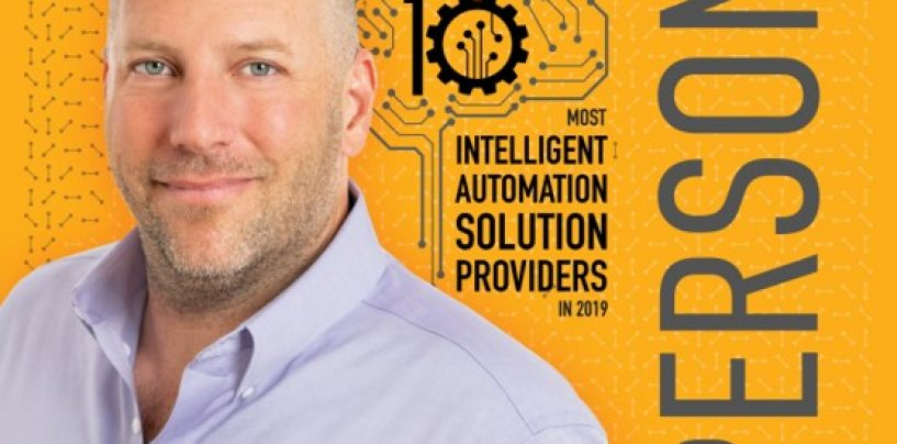 The 10 Most Intelligent Automation Solutions Providers in 2019