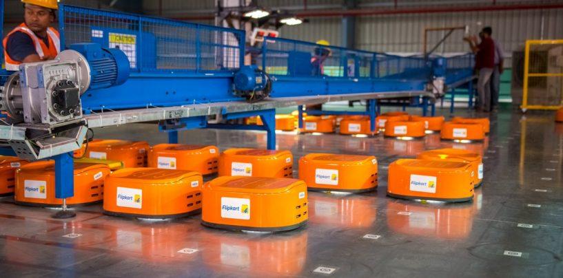 Flipkart Increases its Robotic Workforce Ahead of Big Billion Day Sale
