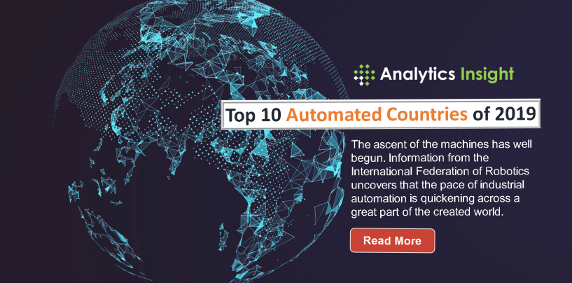 Top 10 Automated Countries of 2019
