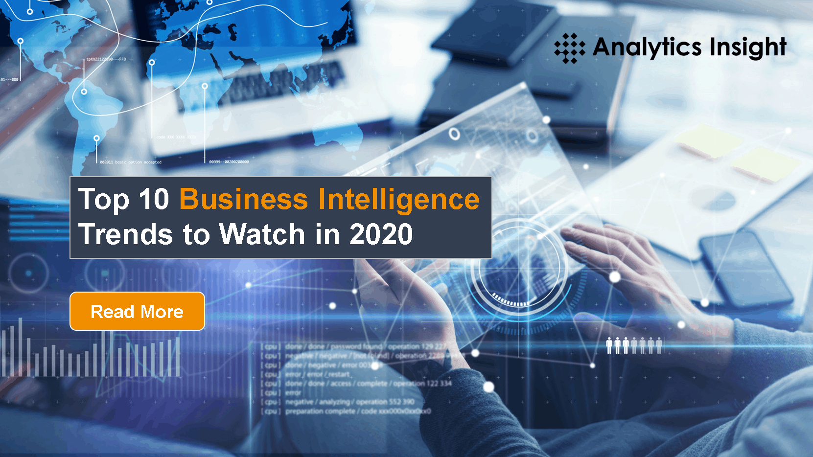 Business Trends 2020.Top 10 Business Intelligence Trends To Watch In 2020
