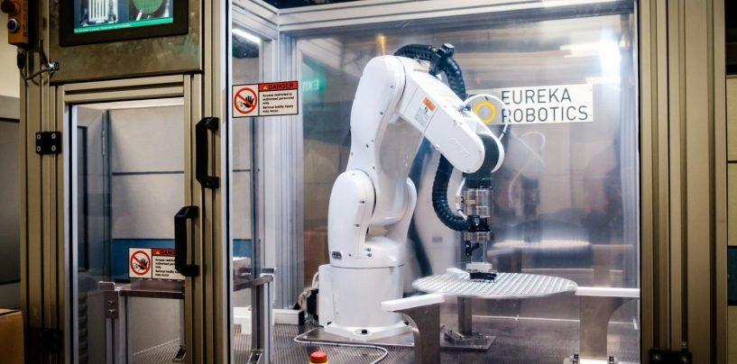Eureka Robotics Erects 6-Axis Robotic Arm for Delicate Optical Lenses and Mirrors