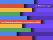 Top 10 Data Science Salaries in India in October 2019