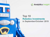 Top 10 Robotics Investments in September/October 2019