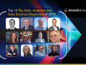 Top 12 Big Data, Analytics and Data Science Influencers of 2019
