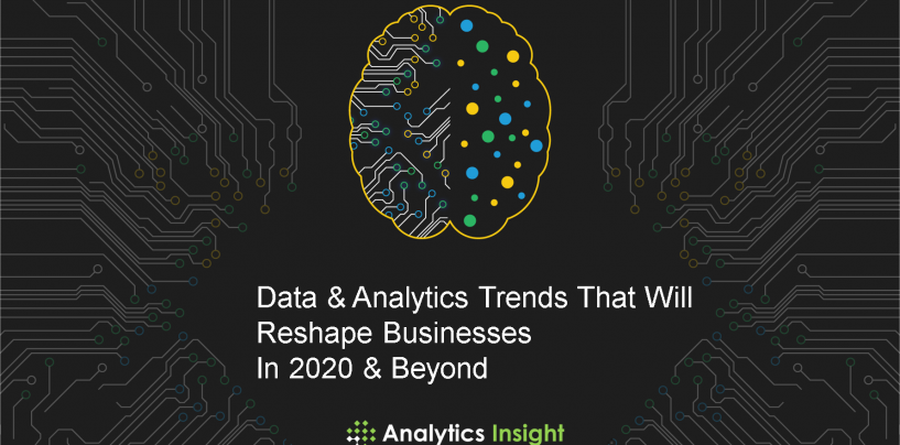 Data & Analytics Trends That Will Reshape Businesses In 2020 & Beyond