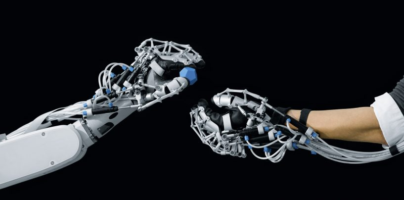 Human Touch in a Robotic Hand