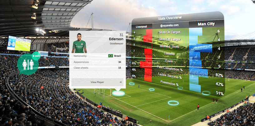 Augmented Reality Apps used in Sports