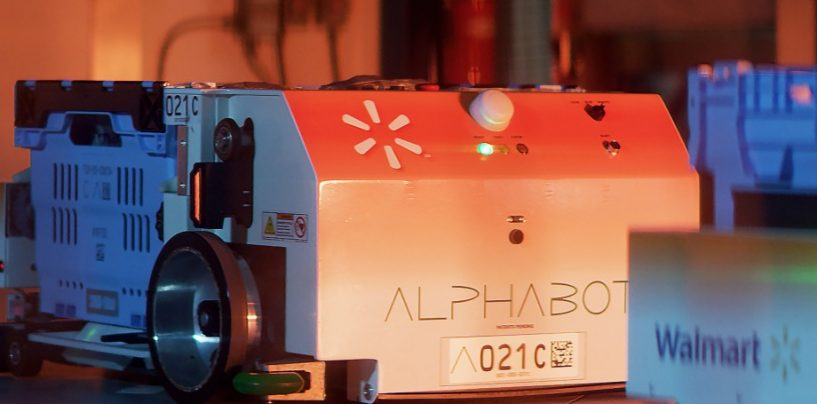 Walmart's Alphabot Has Arrived to Compete Against Amazon's Retail Tech