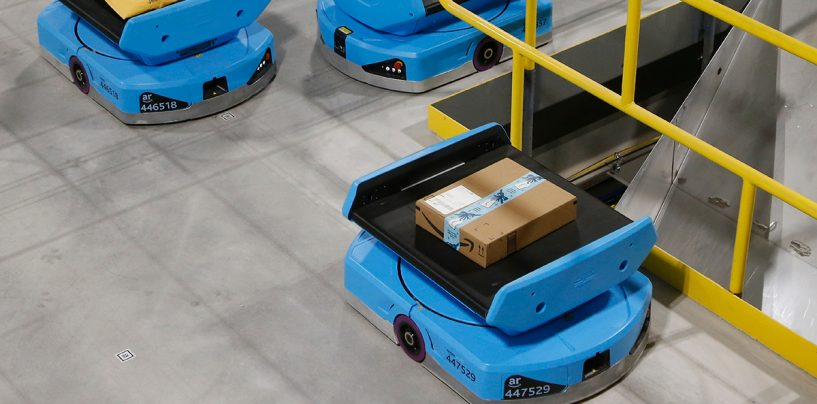 Warehouses will be Driven by AI-powered Robot Pickers
