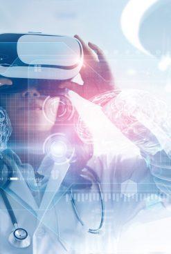 Combination of Virtual Reality and Data Analytics