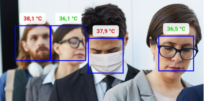 AI-Powered Real-Time Fever Detection Camera Assists in COVID-19 Screening