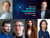 World's Top Artificial Intelligence Influencers in 2020