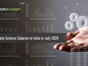 Top 10 Data Science Salaries in India in July 2020