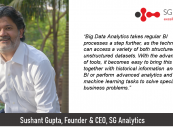 Exclusive Interaction with Sushant Gupta, Founder & CEO, SG Analytics
