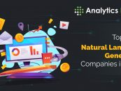 Top 10 Natural Language Generation Companies in 2020