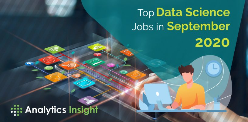Top Data Science Jobs in September 2020
