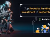 Top Robotics Funding and Investment in September 2020