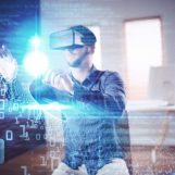 Supporting Remote Work with Robotics and Immersive Technologies