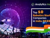 Top 10 Robotics Startup Companies in India September 2020