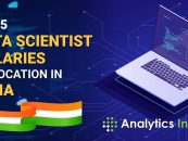 Top 5 Data Scientist Salaries by Location in India