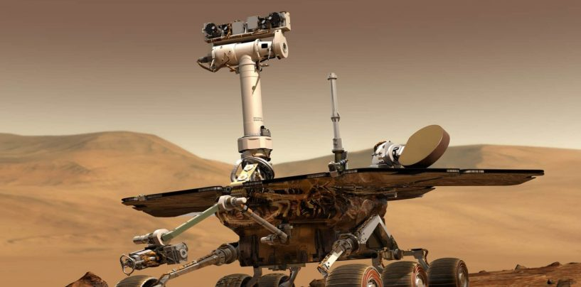 NASA is Planning for Three-Agent Robotic System to Mars